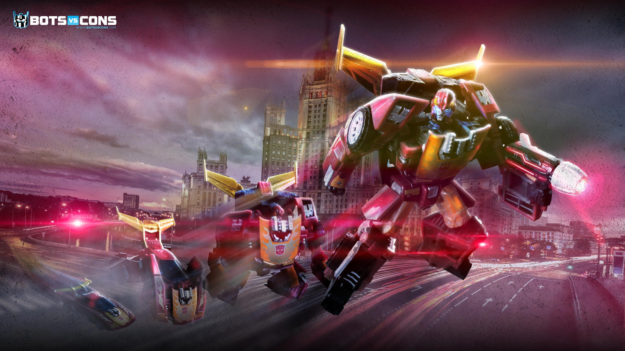 Hot Rod Transform Transformers Wallpaper